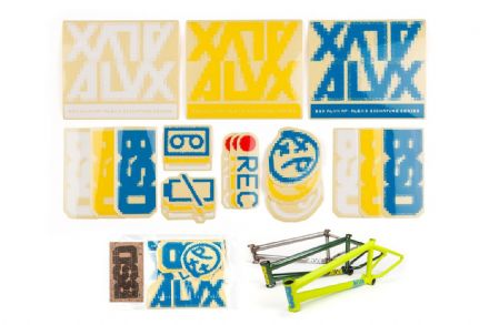 BSD Frame Sticker Packs - ALVX 2019